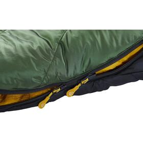 Nordisk Gormsson +4° Curve Sacco a pelo M, artichoke green/mustard yellow/black